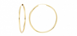 Creole 2mm – Gelbgold 375